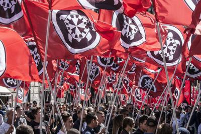 No allo ius soli, CasaPound a Roma per manifestare contro la legge
