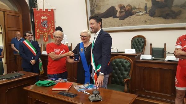 Mafia   L'Agenda Ritrovata di Paolo Borsellino. Tappa a Civitavecchia della Ciclo staffetta